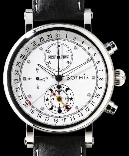 SOTHIS CHRONOGRAPH SPIRIT OF MOON OSIRIS AUTOMATIC
