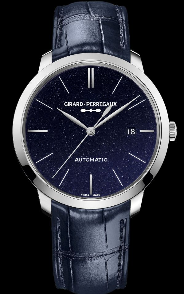 Girard-Perregaux 1966 Orion Trilogy -	Steel 49555-11-435-BB4A