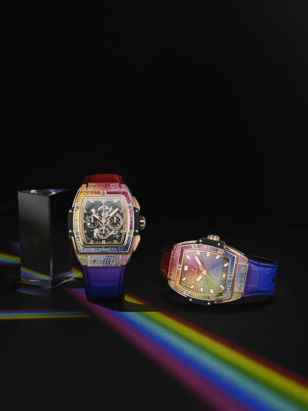 HUBLOT SPIRIT OF BIG BANG RAINBOW watches 42mm and 39mm