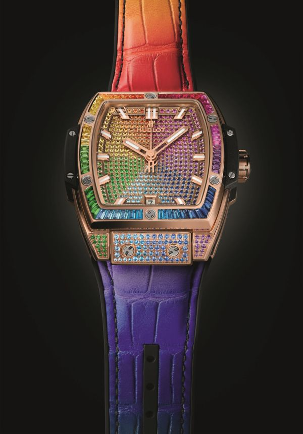 HUBLOT SPIRIT OF BIG BANG RAINBOW 39mm