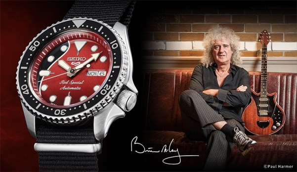 Seiko 5 Sports Brian May Limited Edition, SRPE83K1