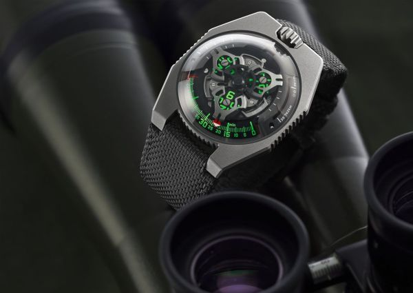 URWERK UR-100 GunMetal Limited Edition
