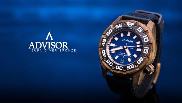Advisor SUPA Diver Bronze Swiss Automatic Watch