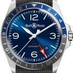 Bell & Ross - BR V2-93 GMT Blue with nato strap