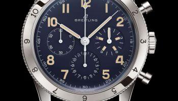 Breitling AVI REF. 765 1953 Re-Edition platinum