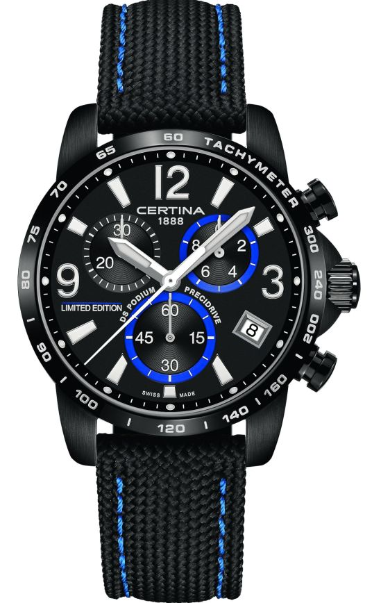 Certina DS Podium Chronograph 1-10 Sec Limited Edition Jeremy Seewer