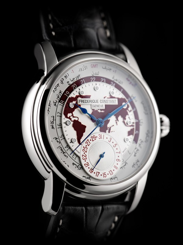 Frederique Constant Classic Worldtimer Manufacture Limited edition Doha Boutique Special, Reference: FC-718QTWM4H6