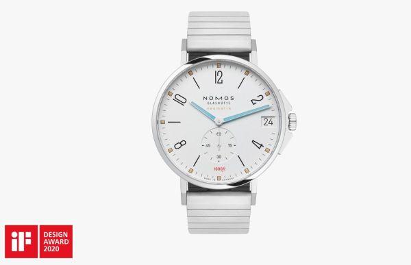 Glashütte-based watchmaking company NOMOS Glashütte wins the iF Design Award 2020 for its Tangente Sport model