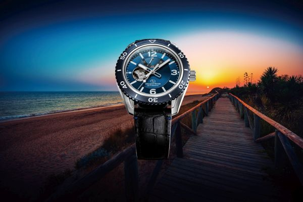ORIENT STAR Semi Skeleton New Models (With Marine Blue or Light Silver Dial)