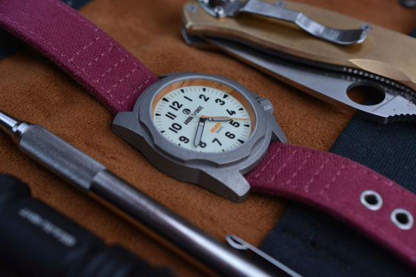 Ardor & Forge Rothrock automatic field watch kickstarter campaign