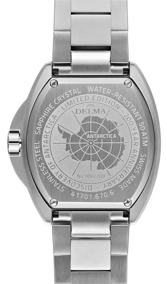 Delma Oceanmaster Antarctica Limited Edition watch
