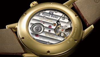 Grand Seiko 60th Anniversary Edition - Re-Creations of the First Grand Seiko Watch from 1960 caseback