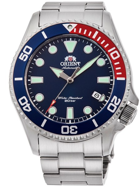 ORIENT Sports Diver New Models Reference RA-AC0K03L Blue Dial