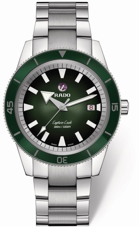 Rado Captain Cook Automatic (Ref 763.6105.3.031)