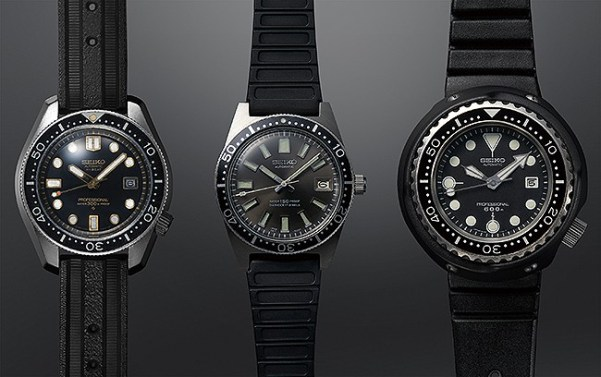 1968 Hi-beat Diver's 300m, 1965 62MAS 150m, 1975 Professional Diver's 600m