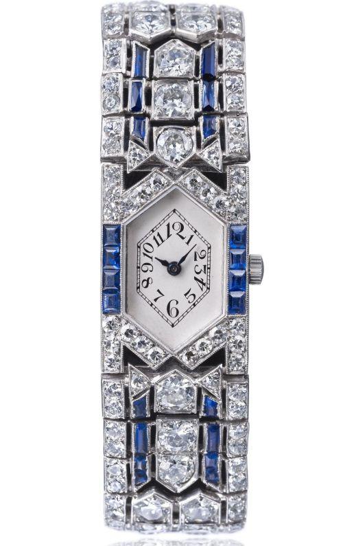 Vacheron Constantin Watch with hexagonal dial, circa 1923