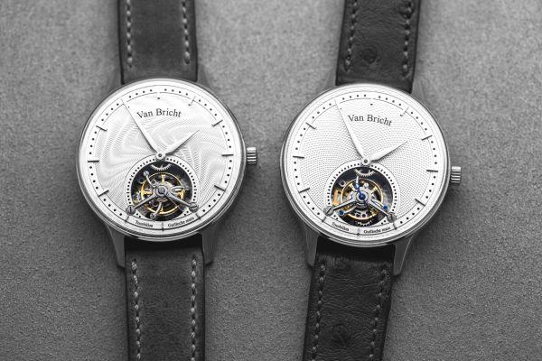 Van Bricht Old Mind Limited Edition tourbillon watch made in Belgium