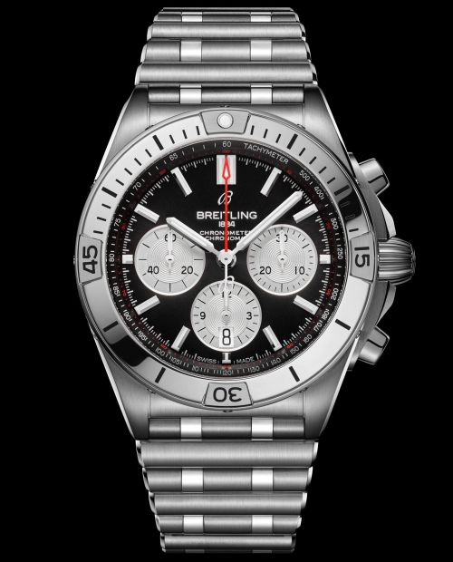 Breitling Chronomat Collection_chronomat-b01-42-with-a-black-dial-and-silver-contrasting-chronograph-counters_ref-ab0134101b1a1