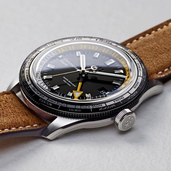 Christopher Ward C65 GMT Worldtimer watch