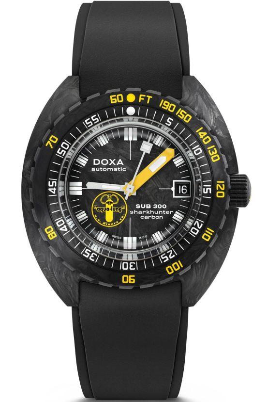 DOXA SUB 300 Carbon Aqua Lung US DIVERS Limited Edition 1