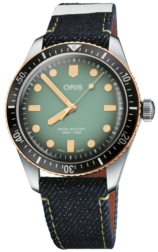 Oris x Momotaro: Special Edition Divers Sixty-Five Watch Produced In Collaboration with Momotaro Jeans, Japan