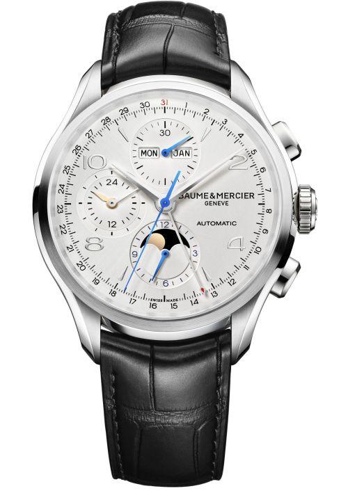 Baume & Mercier Clifton Chronograph Complete Calendar, Reference M0A10278