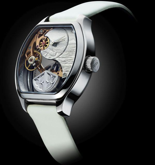 CLAUDE MEYLAN TORTUE LADY LA POINTE DE SABLE ladies mechanical automatic watch