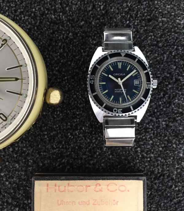Circula vintage automatic diving watch, circa 1970s