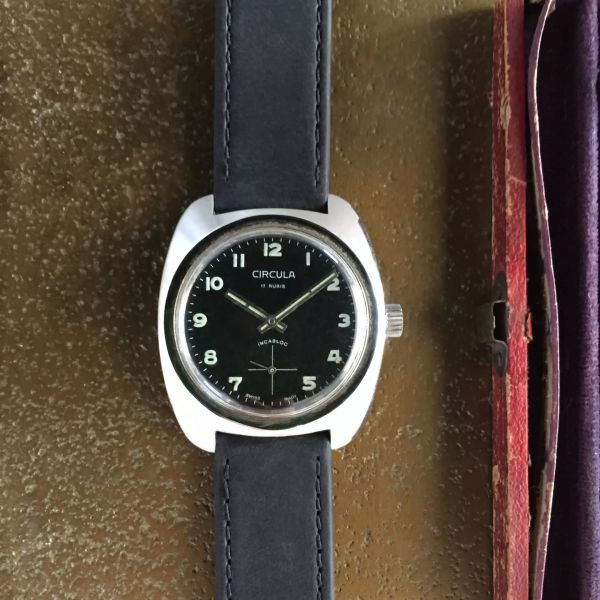 Circula vintage watch with small seconds, circa 1960s