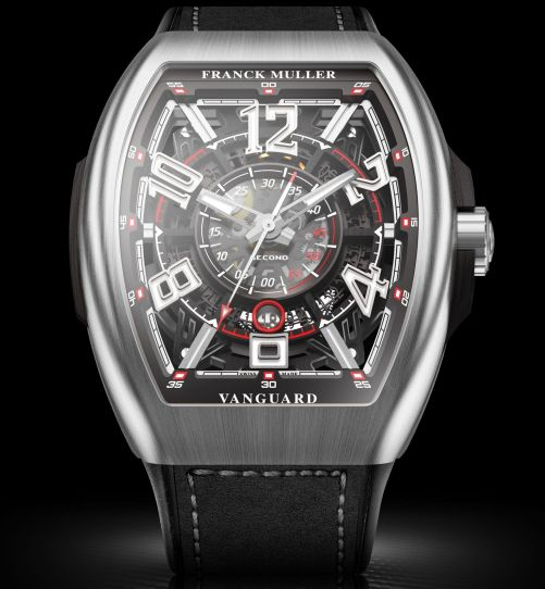Vanguard™ Racing Skeleton, Stainless steel case