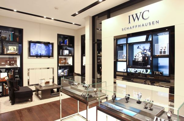The first IWC boutique in Galaxy Macau, the Asian Las Vegas, features a comprehensive collection of IWC watches and aims to give customers a unique, high-quality service experience. (PHOTOPRESS/IWC SCHAFFHAUSEN)