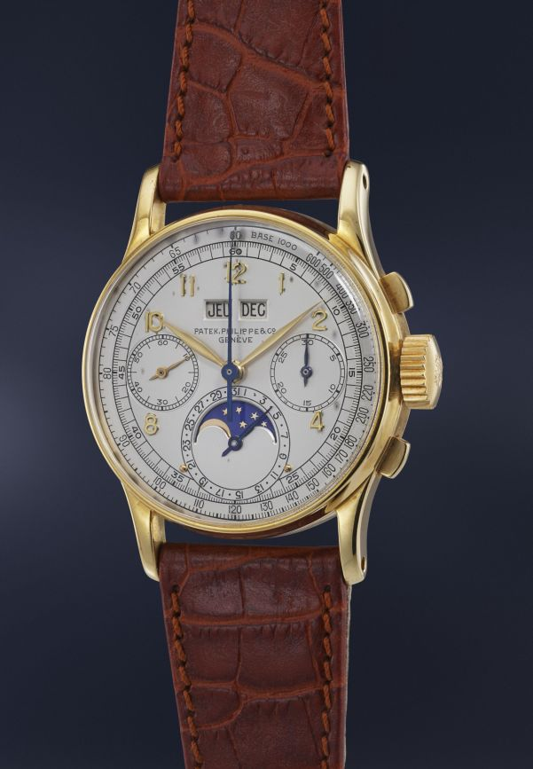 Patek Philippe, Reference 1518 in yellow gold