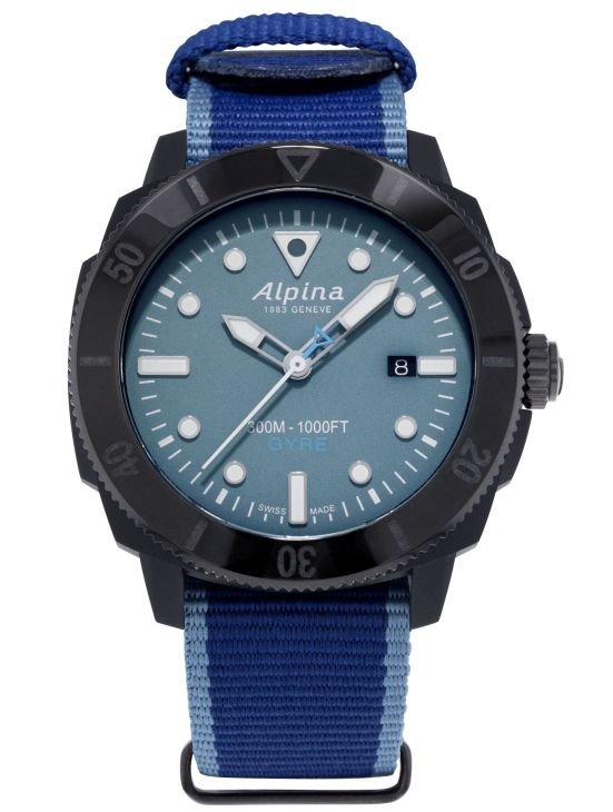 Alpina Seastrong Diver Gyre Gents Automatic, Reference AL-525LNB4VG6