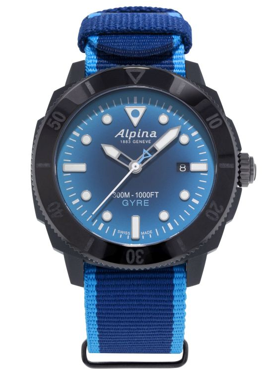 Alpina Seastrong Diver Gyre Gents Automatic, Reference: AL-525LNSB4VG6