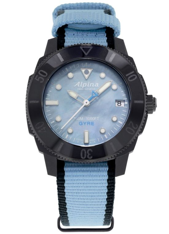 Alpina Seastrong Diver Gyre Ladies Automatic, Reference: AL-525LMPLNB3VG6