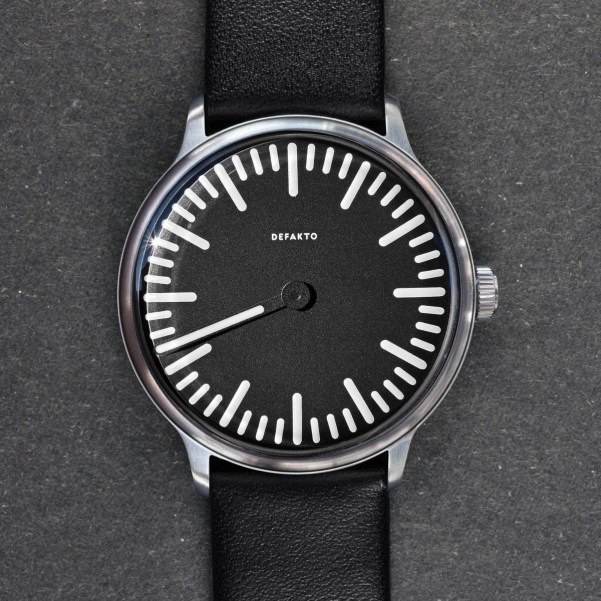 Defakto Meta Automatic watch sandblasted pvd case tenth anniversary limited edition
