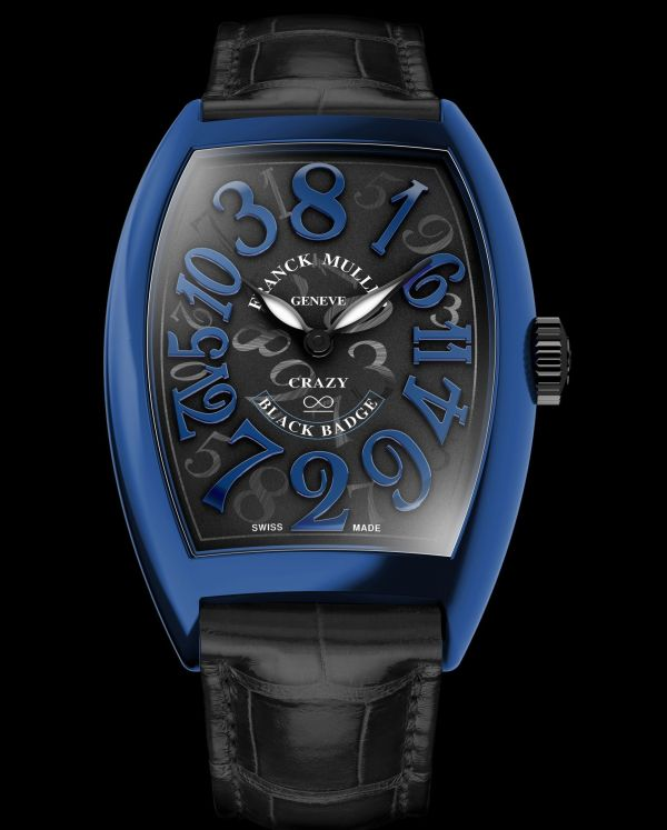 "Franck Muller Crazy Hours Black Badge Edition, Celebrating the Rolls-Royce Wraith ""Crazy Numbers"" Bespoke Car"