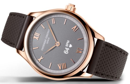 Frederique Constant Smartwatch Gents Vitality, Reference: FC-287BG5B4