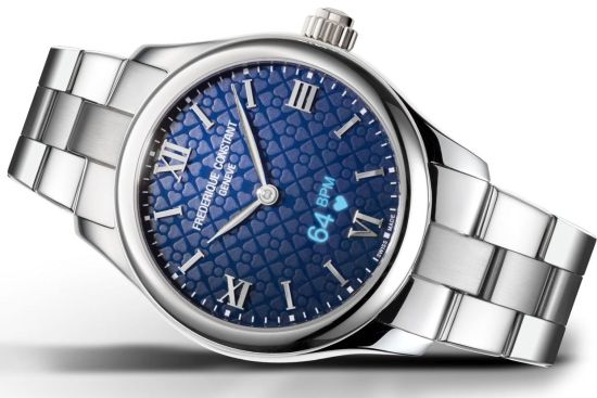 Frederique Constant Smartwatch Ladies Vitality, Reference: FC-286N3B6B
