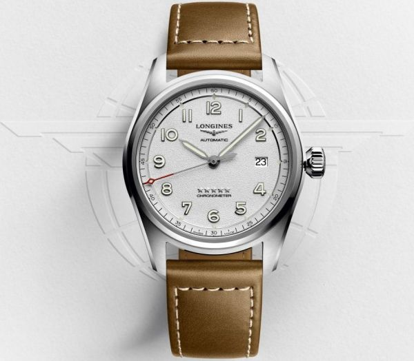 Longines Spirit Collection three hands with date