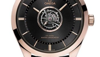 Omega new De Ville Tourbillon (Master Chronometer certified manual winding central Tourbillon with antimagnetic features)