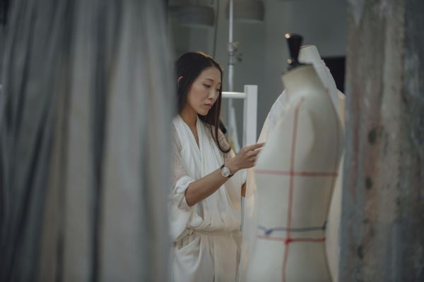 "Paris based Haute Couture designer Yiqing Yin joins Vacheron Constantin's ""One of not many"" communication campaign"