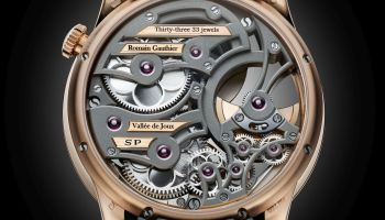 Romain Gauthier Insight Micro-Rotor Squelette Limited Edition 18k Red Gold 1