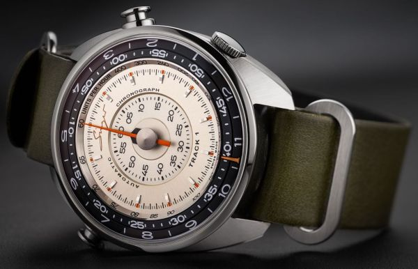 Singer Reimagined announces the auction of a Singer Track1 Prototype watch in collaboration with Phillips
