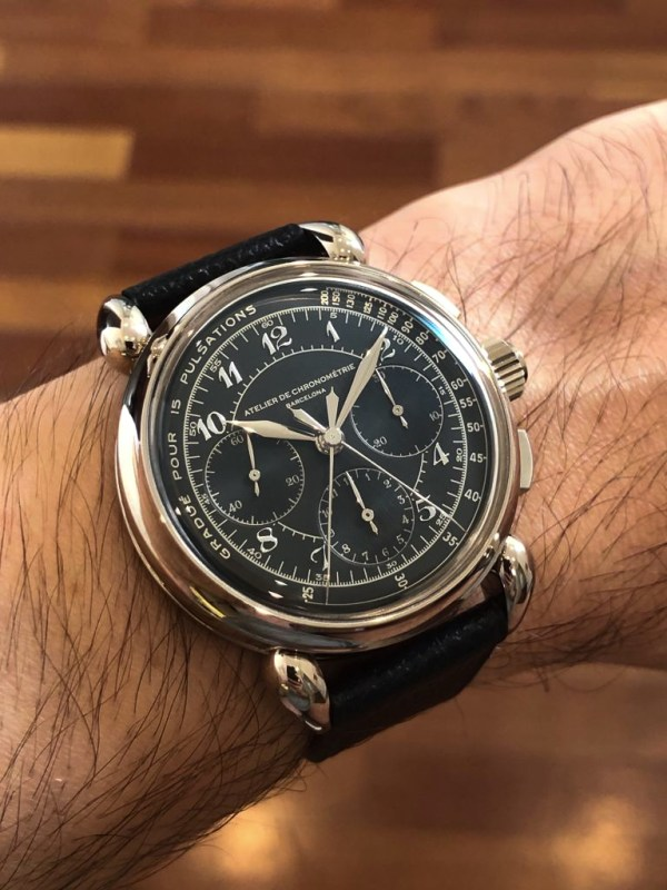 Atelier de Chronométrie AdC#8 Rattrapante (Split-Seconds Chronograph)