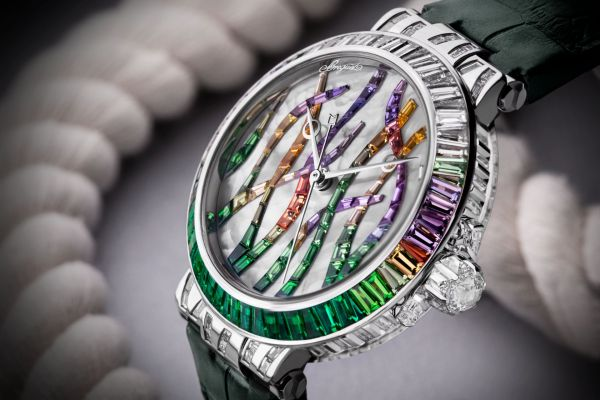 Breguet Marine Haute Joaillerie 9509 Poseidonia emerald version