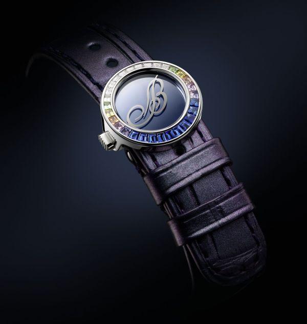 Breguet Marine Haute Joaillerie 9509 Poseidonia sapphire 2