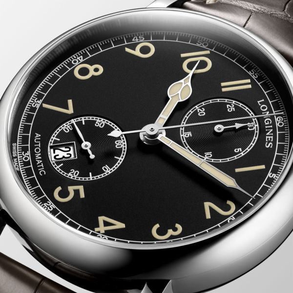 Longines Avigation Watch Type A-7 1935 (New Model with Black Dial)