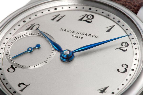 NAOYA HIDA & Co. NH TYPE 1C handwound mechanical watch made in Japan