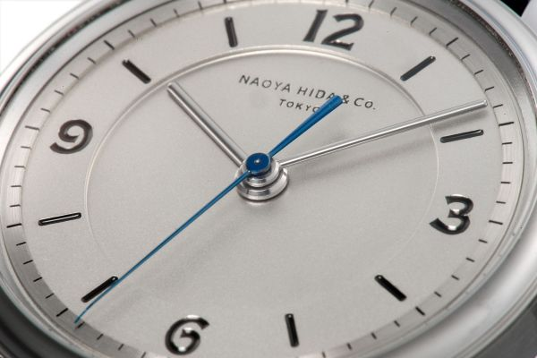 NAOYA HIDA &Co. NH TYPE 2A hand-wound watch made in japan